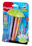Carioci 12 culori Color Peps Jungle Innovation Maped