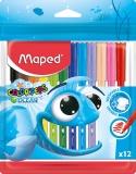 Carioci Color Peps Ocean 12 culori/set Maped