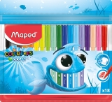 Carioci Color Peps Ocean 18 culori/set Maped
