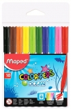Carioci 10 culori Color Peps Ocean Maped