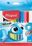 Carioci Color Peps Ocean 10 culori/set Maped