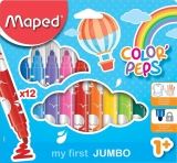 Carioci Color Peps My first Jumbo 12 culori/set Maped