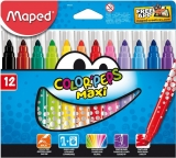 Carioci 12 culori Color Peps Maxi Maped