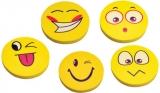 Radiera Big Round Smiley Faces diverse modele Centrum