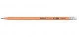 Creion grafit HB cu guma de sters, FSC Black Peps Maped