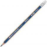 Creion cu guma Black Peps Navy HB Maped