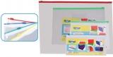 Plic plastic 442 x 320 mm transparent zipp-lock diverse modele Centrum
