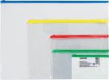 Plic plastic 155 x 105 mm transparent cu zipp-lock diverse modele Centrum