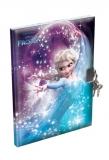 Caiet de amintire A5 cu coperta buretata Frozen