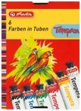 Acuarele 6 culori Tempera Herlitz
