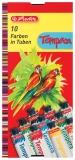 Acuarele 10 culori Tempera Herlitz