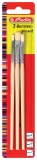 Pensule lemn drepte 4-6-8 Herlitz