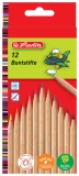 Creioane color natur 1/1 12 buc/set Herlitz