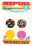 Magnet color 30 mm 4 buc/set Centrum