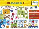 10 JOCURI IN 1 - Clementoni CL60345