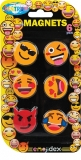 Magneti Emojidex color, diametru 28 mm, 6 buc/set Centrum
