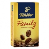 Cafea macinata si vidata 1 kg, Tchibo Family