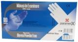 Manusi examinare din nitril albastru, fara pudra, marimea M, 100 buc/set, Paramedx