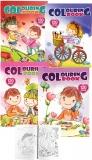 Carte de colorat A4, 120 pag, diverse modele Centrum