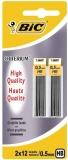Mine creion mecanic Criterium, 0.5 mm, HB, 2 x 12 buc/set Bic