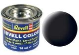 Black, mat 14 ml Revell RV32108