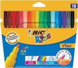 Carioci 18 culori lavabile Visa Bic