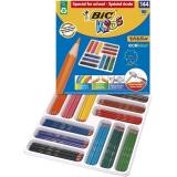 Creioane colorate Kids Evolution ECOlutions 144 buc/set Bic