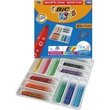 Carioci Kids Kid Couleur Ultralavabile 144 buc/set Bic
