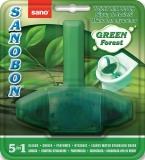 Odorizant WC Green Forest, 5 in 1, 55 gr Sano Sanobon