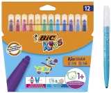 Carioci lavabile Kid Couleur Baby 12 buc/set Bic