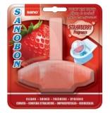 Odorizant WC Strawberry, 4 in 1, 55g, Sano Sanobon