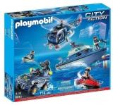 Set Vechicule De Politie Playmobil