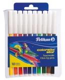 Carioca 10 culori Colorella Star Pelikan