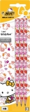 Creion grafit 3/set Evolution Hello Kitty Bic
