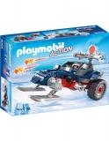 Piratul Arctic Cu Snowmobil Playmobil