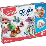 Set Creativ Color & Play Memorie Maped
