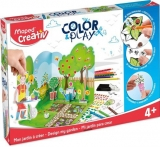 Set Creativ Color & Play Gradina Maped