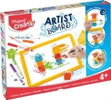 Set Creativ Artist Board Monstrii Maped