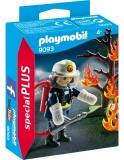 Figurina Pompier Si Copac In Flacari Playmobil