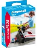 Figurina Skateboarder Cu Rampa Playmobil