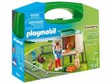 Set Portabil - Ferma Iepurasilor Playmobil
