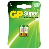 Baterie alcalina LR1, 2 buc/blister GP