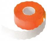 Rola pret portocalie 26 x 12 mm, 1500 etichete/rola