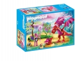 Dragonul Prietenos Cu Puiul Sau Playmobil