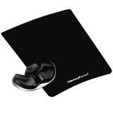 Suport negru pentru mousepad Crystal Health-V Fellowes