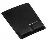 Mousepad negru cu Microban Fellowes