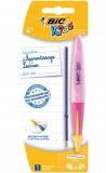 Pix pentru invatare scriere Kids Twist Girl 1 mm roz Bic