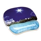 Mousepad cu suport pentru incheietura plaja tropicala Photo Gel™ Fellowes