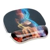 Mousepad cu suport pentru incheietura fum curcubeu Photo Gel™ Fellowes
