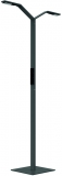 Lampa de podea LED, Floor Twin Linear, 25 W, 680-900 lm, 2700-6500K, negru Luctra
